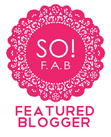 I am a So!Fab Featured Blogger