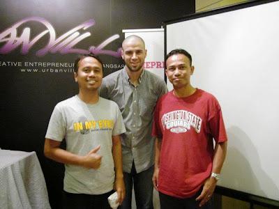 Hollywood Inside Out bersama Reshad Strik, Urban Village, Bangsar