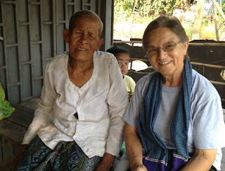 Misionera española en Camboya