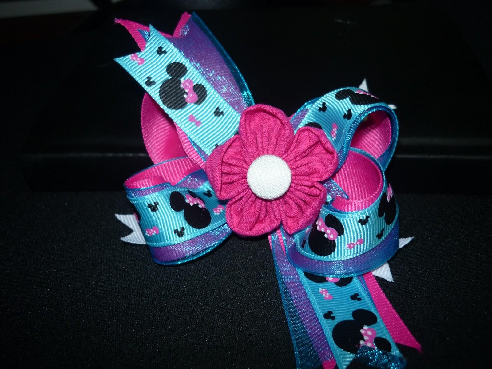 Materiales para manualidades flores en tela para decorar - Manualidades con lazos ...