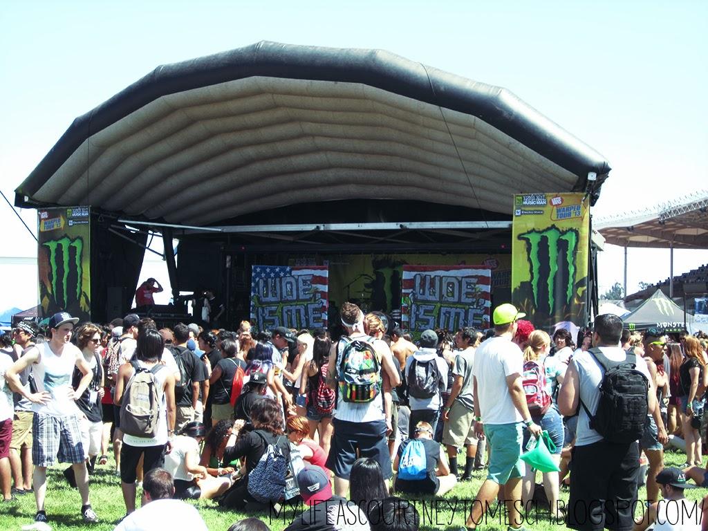 Vans Warped Tour 2013 Pomona California Woe, is Me