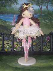 Meia The Ballerina Felt Doll Pdf Pattern