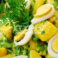 Ilık Patates Salatası Tarifi