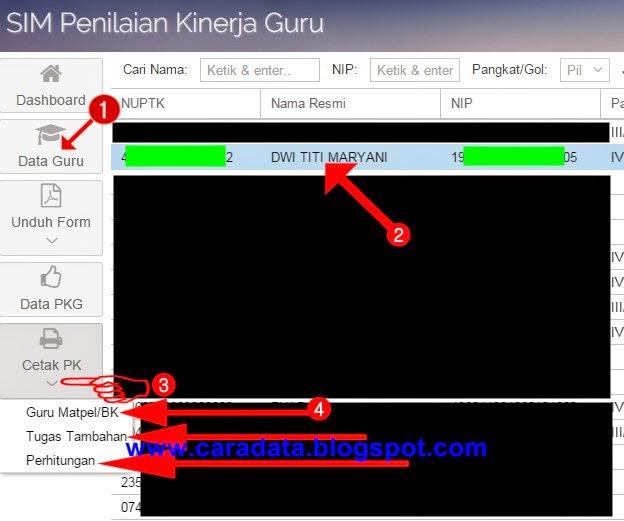 Cara Praktis Cetak Hasil Input PKG dan PKKS di SIMPAK Modul PKG