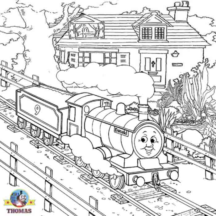thomas train coloring pages - photo#38