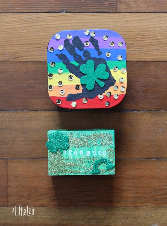 Leprechaun Treasure Box Tradition.  Everyday Magic Blog.