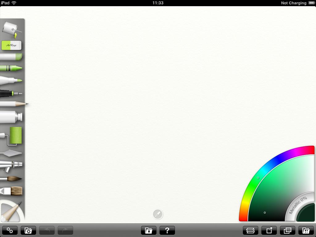 Pinto en iPad