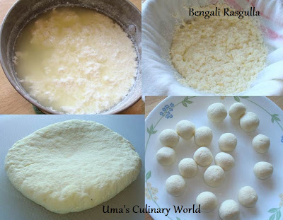Homemade Rasgulla