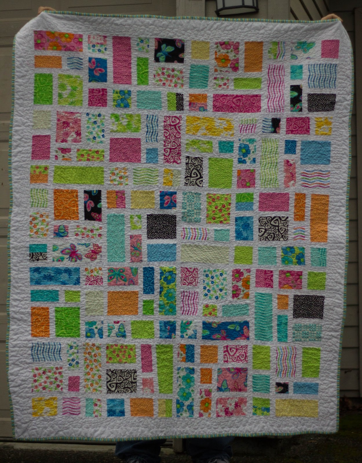 Layer Cake Quilt Pattern Ideas : {Sisters and Quilters}: Monsters, Quilts, and More ...