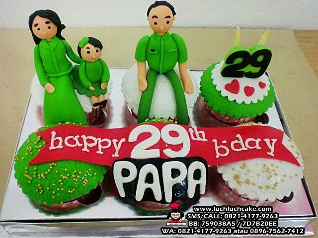 Cupcake Keluarga Tantara Daerah Surabaya - Sidoarjo
