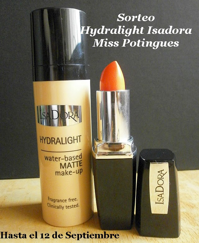 Sorteo Hydralight Isadora Miss Potingues