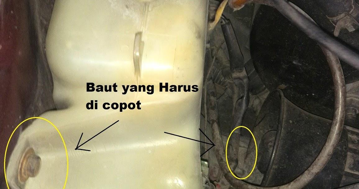 Komunitas Mitsubishi Kuda Semarang Ngoprek Yuk Bocor