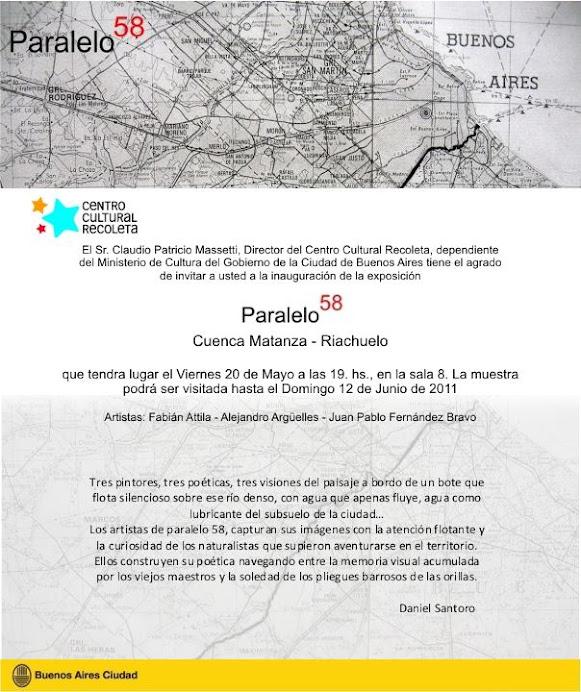 Paralelo 58 - El viaje, en Recoleta