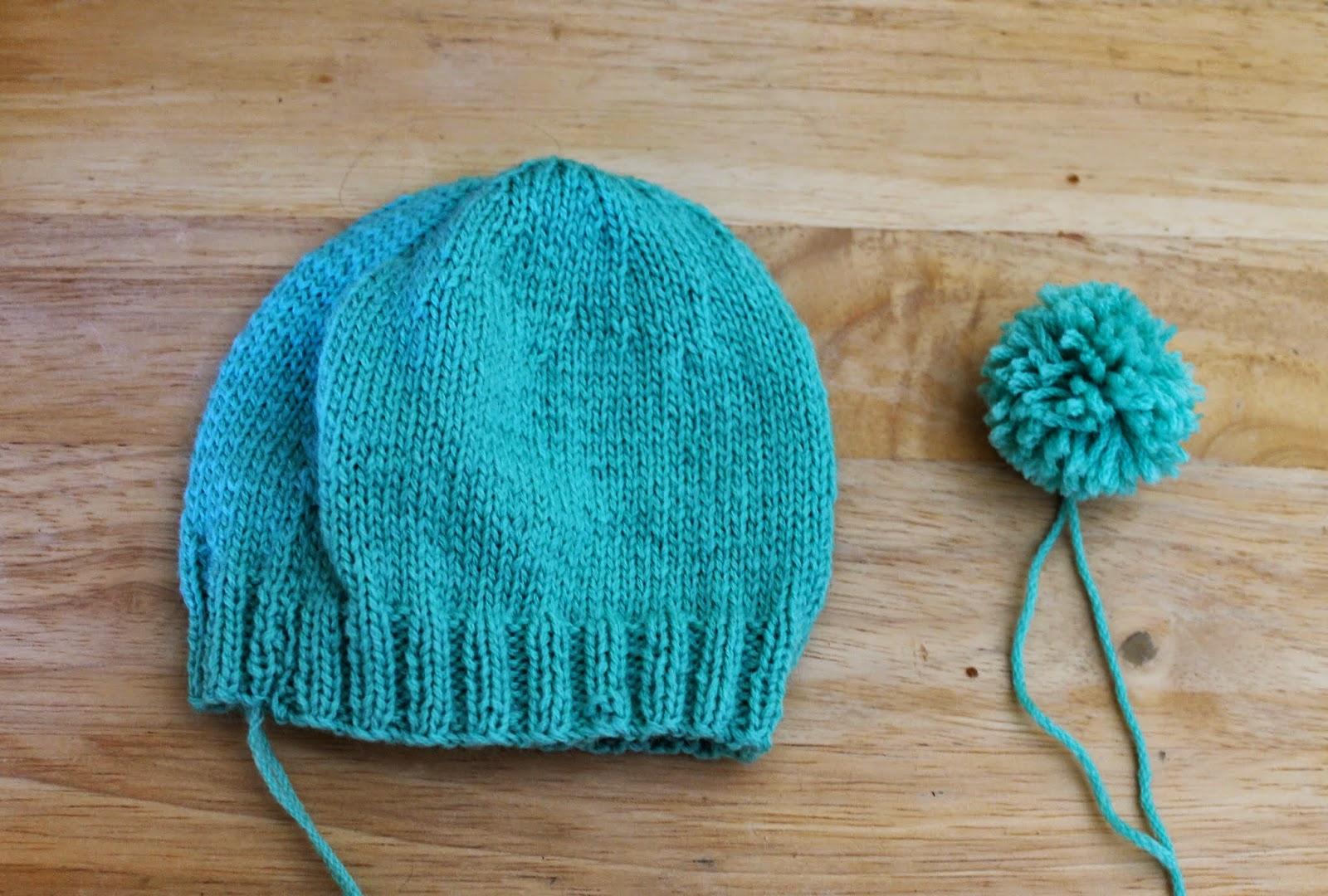 Bonnet islandais - Rentrer les fils tricot ...