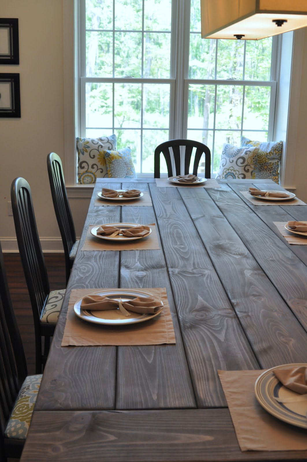 Farmhouse Table Remix {How To Build A Farmhouse Table}   East Coast  Creative Blog