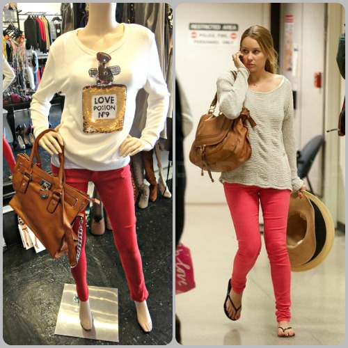 One Honey Boutique Steal Their Style Coloured Jeans