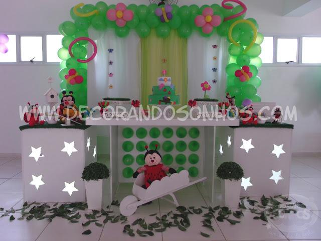 festa tema jardim clean : festa tema jardim clean:decoracao+jardim+encantado+clean+festa+infantil+jardim+encantado