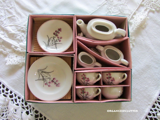 1960's China Child's Tea Set Made in Japan