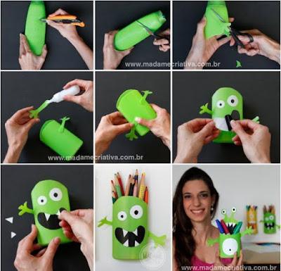 Cara membuat wadah monster