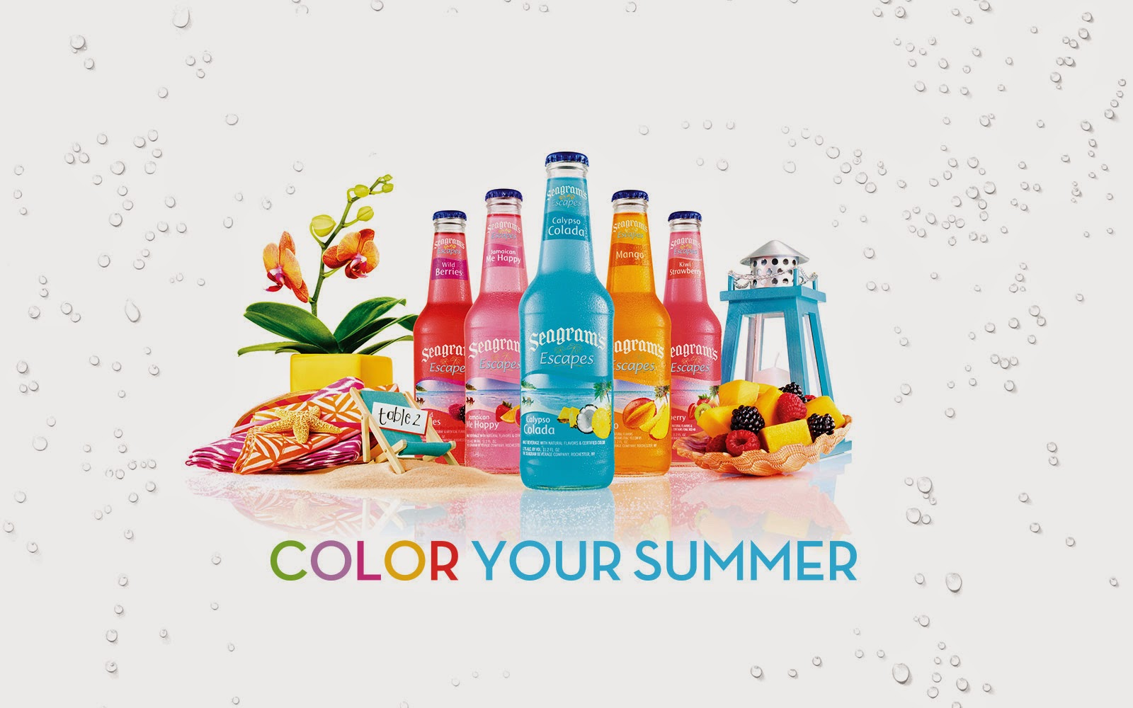 Themeparkmama seagram 39 s escapes for a colorful summer for Cheap fruity mixed drinks