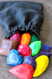 Making Recycled Wax Crayons