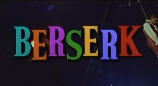 Berserk 1967 title screen