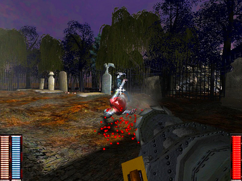 Cemetery Warrior Zombia Game