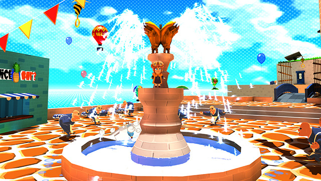 Screenshot of video game A Hat in Time