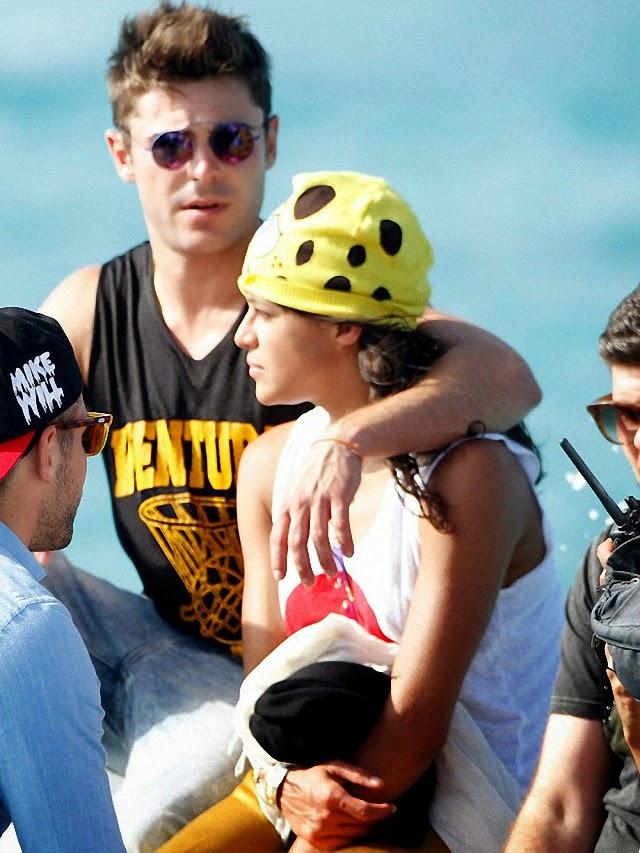 Zac Efron y Michelle Rodriguez siguen juntos