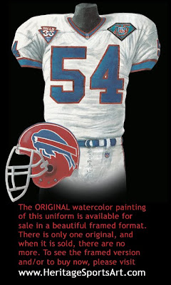 Buffalo Bills 1994 uniform