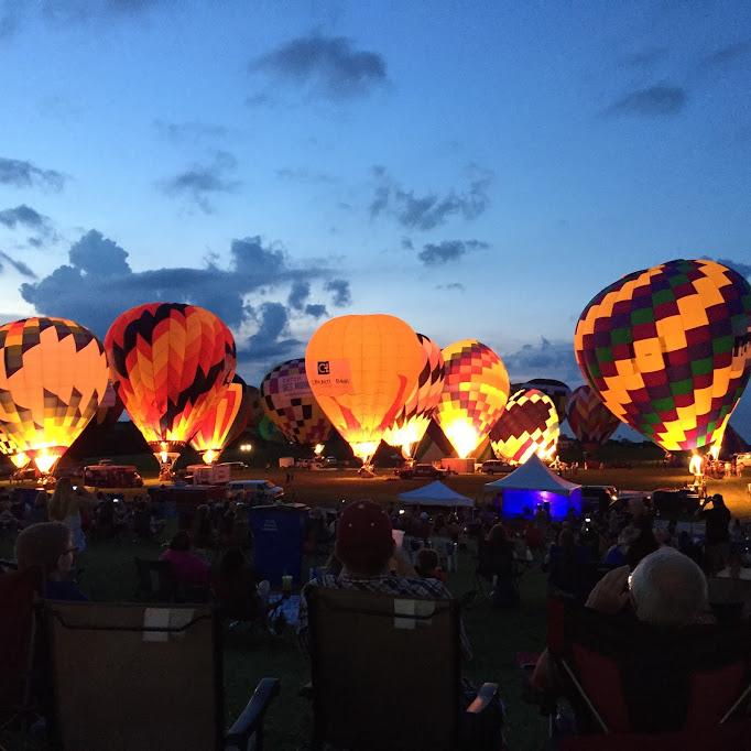 indianola national balloon classic hot air balloon festival