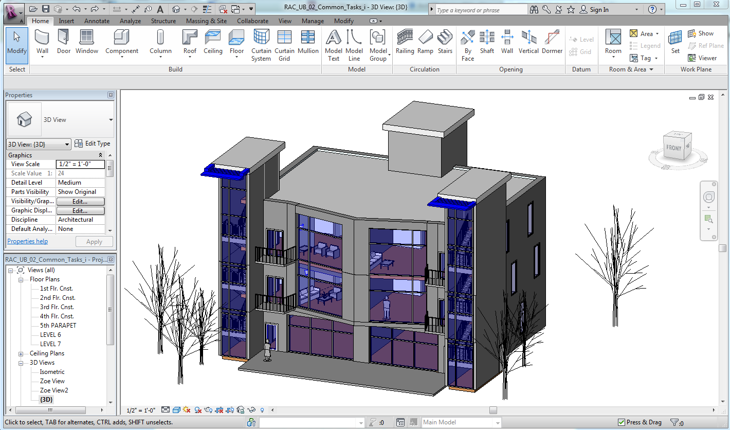 The architectural student tutorial software for architects for Home architecture cad