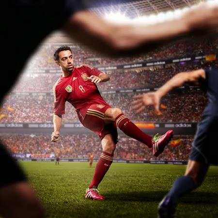 La Roja o ninguna Adidas presenta la camiseta y equipación de la Selección española Mundial 2014