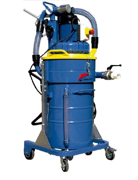 Mobile Compact And Powerful The Vacuum Cleaner TECNOIL Is Ideal Machine To Suck Up Liquid Oil Or Coolant Mixed With Metal Chips Separate
