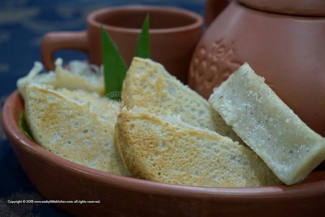 Kue pancong khas Betawi