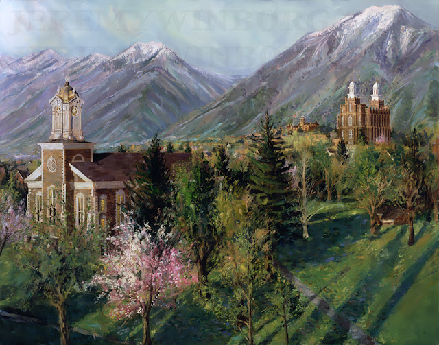 logan tabernacle logan lds temple and usu old main
