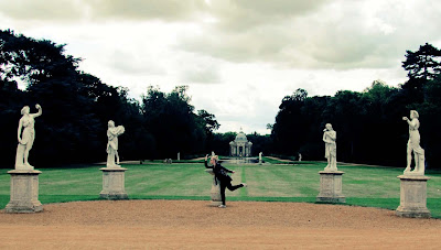 statues, muse, Wrest Park, Amber Finch, Visit