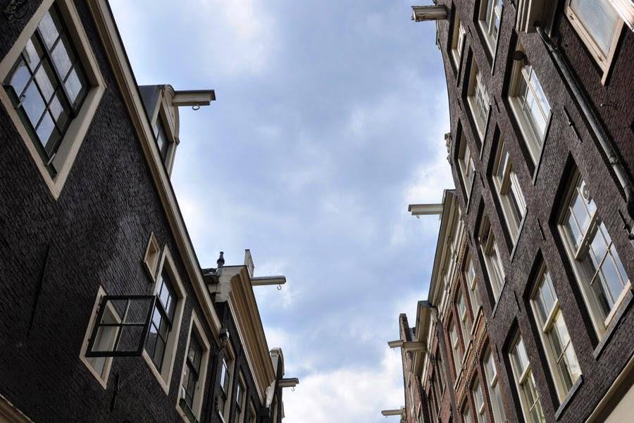 ganchos en las casas de Ámsterdam