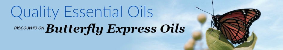 Discount Butterfly Express Essential Oils-up to 30% off
