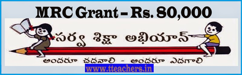 MRC Grant-Contingent Grant,TA and meetings,TLM=Rs 80,000