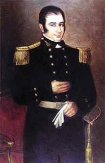 'Hipólito Bouchard', óleo de José Gil de Castro exhibido en el Museo Histórico Nacional