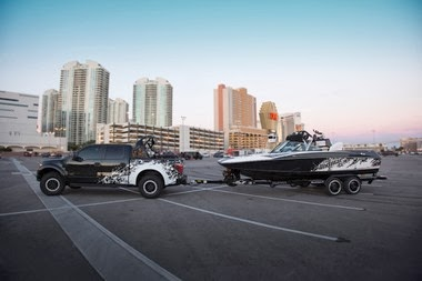 Ford Takes Raptor V8 Engine to the Boating Industry