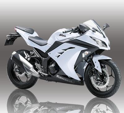 New Ninja 250 Putih