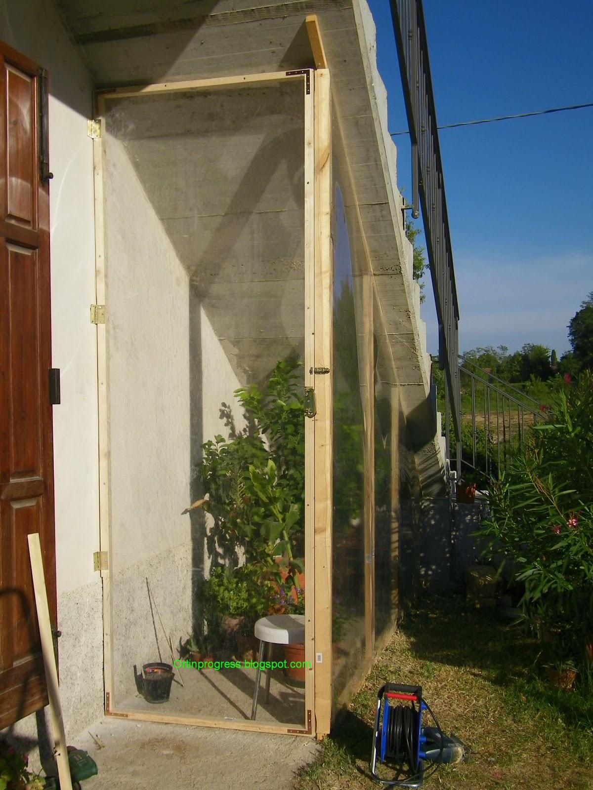 Orti in progress come costruire una serra nel sottoscala 3 ed ultima parte - Costruire una serra in casa ...