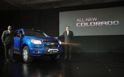 Chevrolet All-New Colorado Start Launched