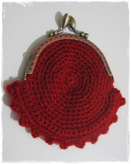 Monederos de crochet - Imagui