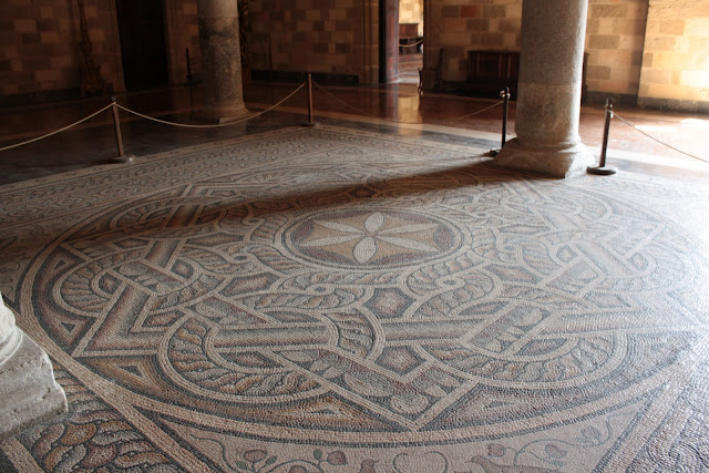 Mosaic floors in Greece