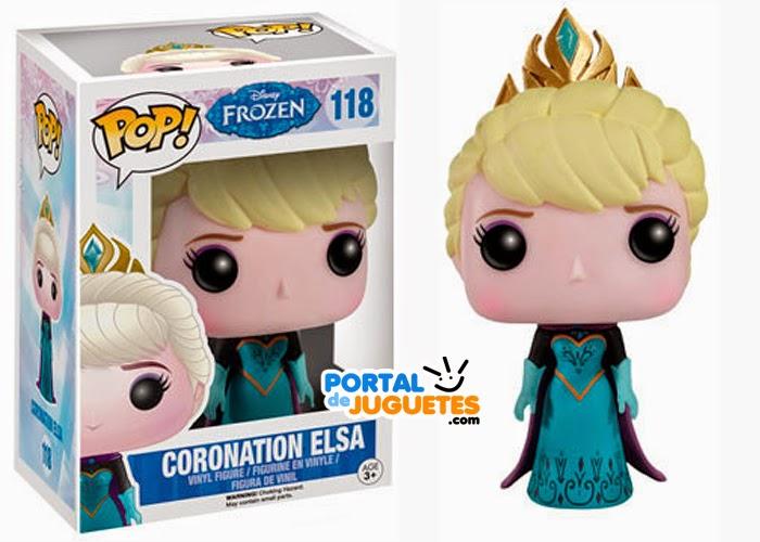 figura elsa coronacion frozen funko