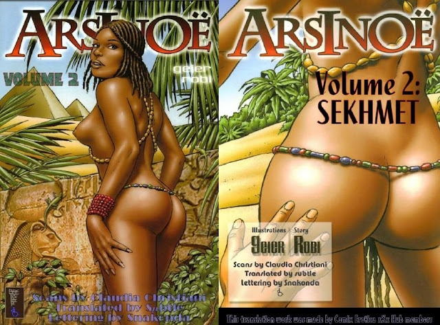 Arsinoe 2 - comics