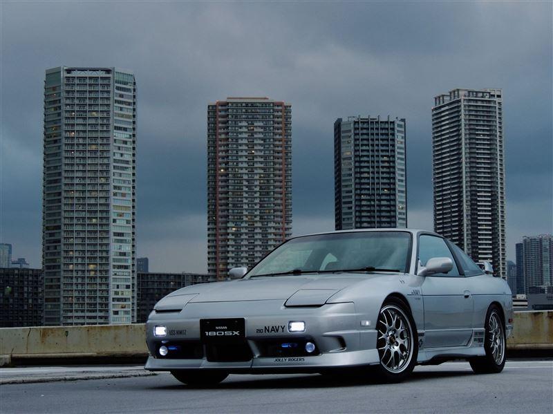 Nissan 180SX, sportowy samochód, coupe, japońskie, JDM, ikona, kultowy, z duszą, drifting, tuning, zdjęcia